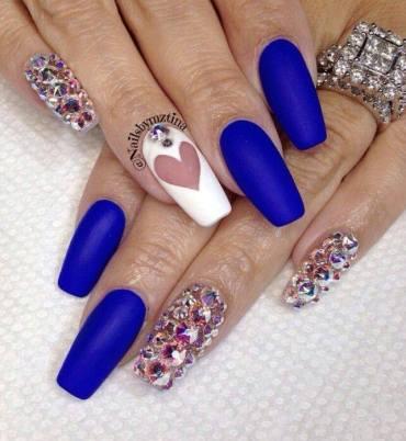 Diseño y Decoración de Uñas-unhas-nails Blue - Azules 2016-2017 (12)
